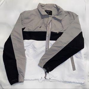 Colorblock Windbreaker Jacket